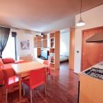 Appartamento monolocale - veduta zona giorno